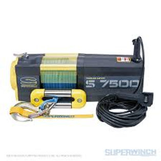 SUPERWINCH S7500SR 12V 7500 LB WINCH WITH SYNTHETIC ROPE