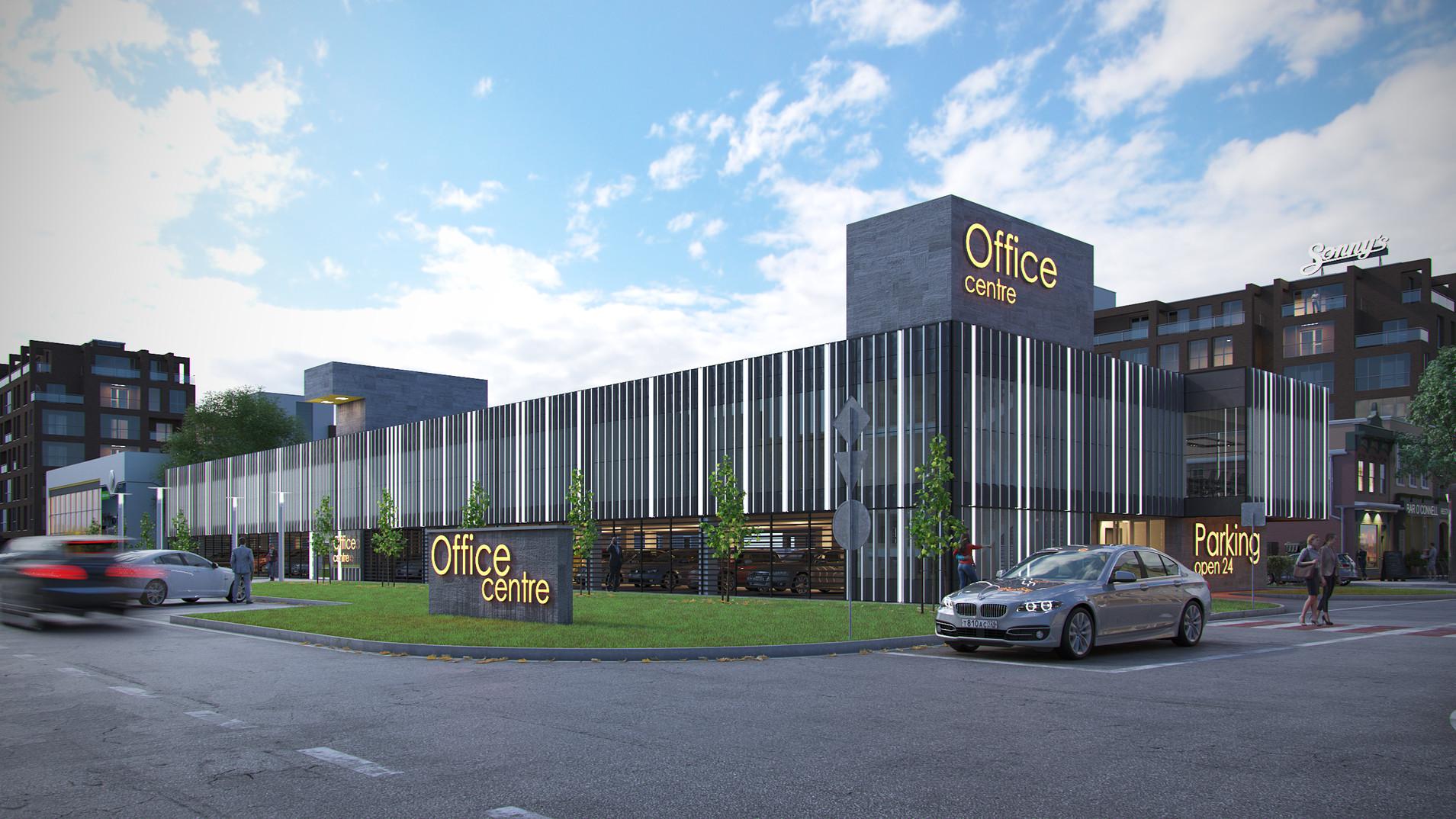 концепция бизнес-центра