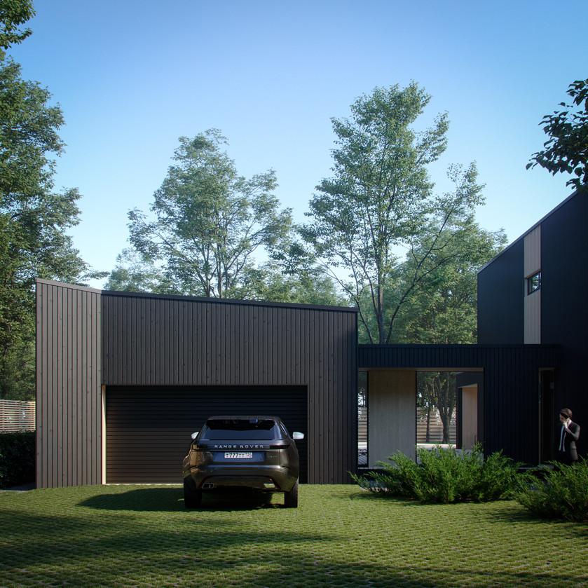 индивиуальный жилой дом