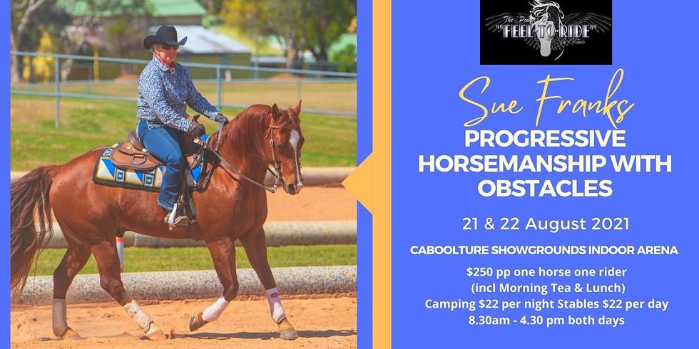 Progressive Horsemanship With Obstacles
