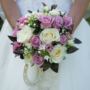 Clustered pink and cream