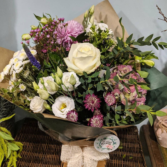 Mixed bouquet example (£35)