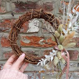 Dried wreath mini