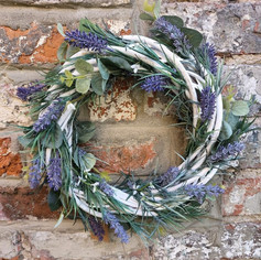 Lavender wreath (example)