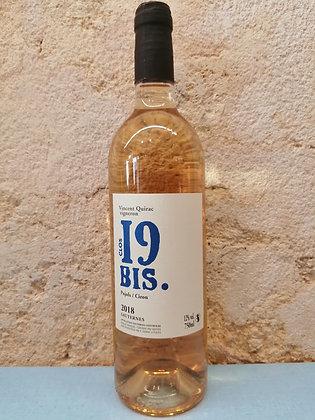 Clos 19Bis. Vincent Quirac, Sauternes 2018