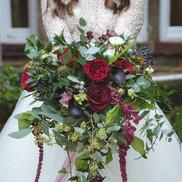 Big, bold and burgundy. Chrissy Elaine Wilson Photography.