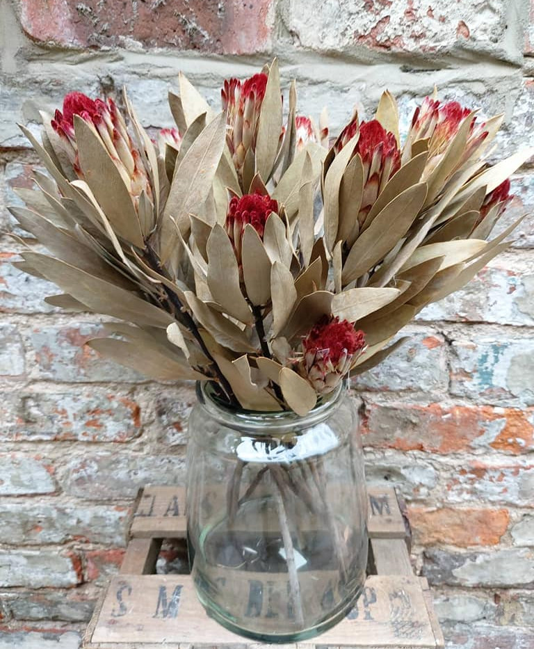 Recycled chunky vase