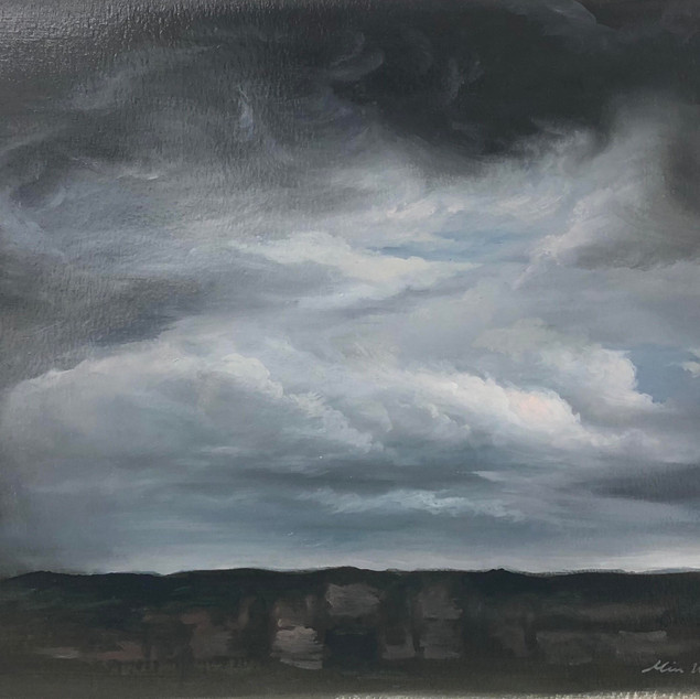 Quite Storm_oil on paper _23x32cm.jpg