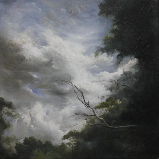 MinWooBang_Moving Clouds_oil on linen_52