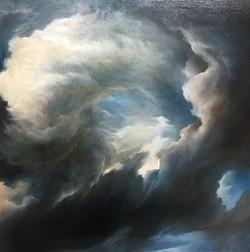 Swirl of cloud