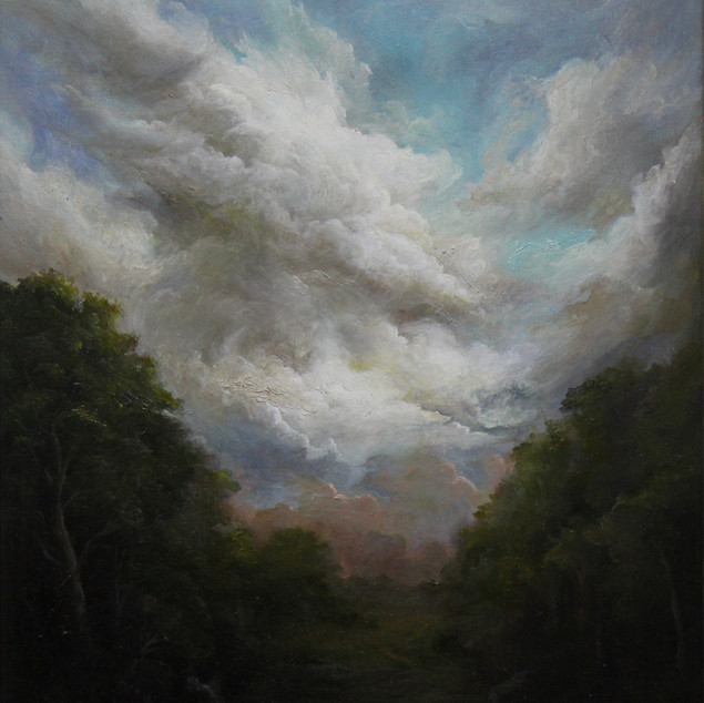 MinWooBang_Into a forest_46x38cm_oil on