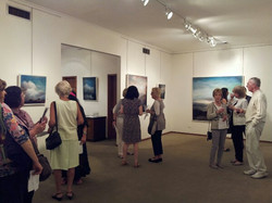Solo show opening @ Wagner Art Gallery