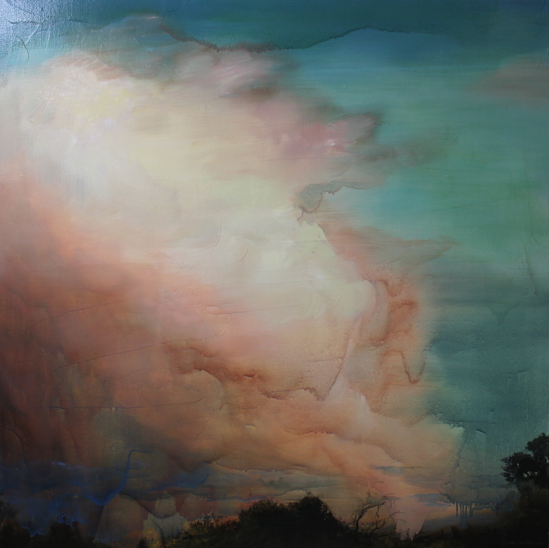 minwoobang_Contemplative Nature_oil on canvas_102x102cm_2013