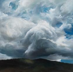 Big swirling cloud