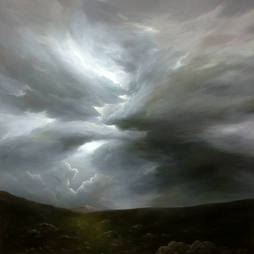 Beyond the Clouds_oil on linen_102x102cm