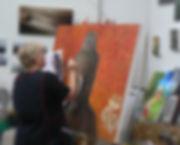 Brigette+2009+Budda+painting.jpg