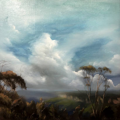 Memory of the wind (Blue Mountains)