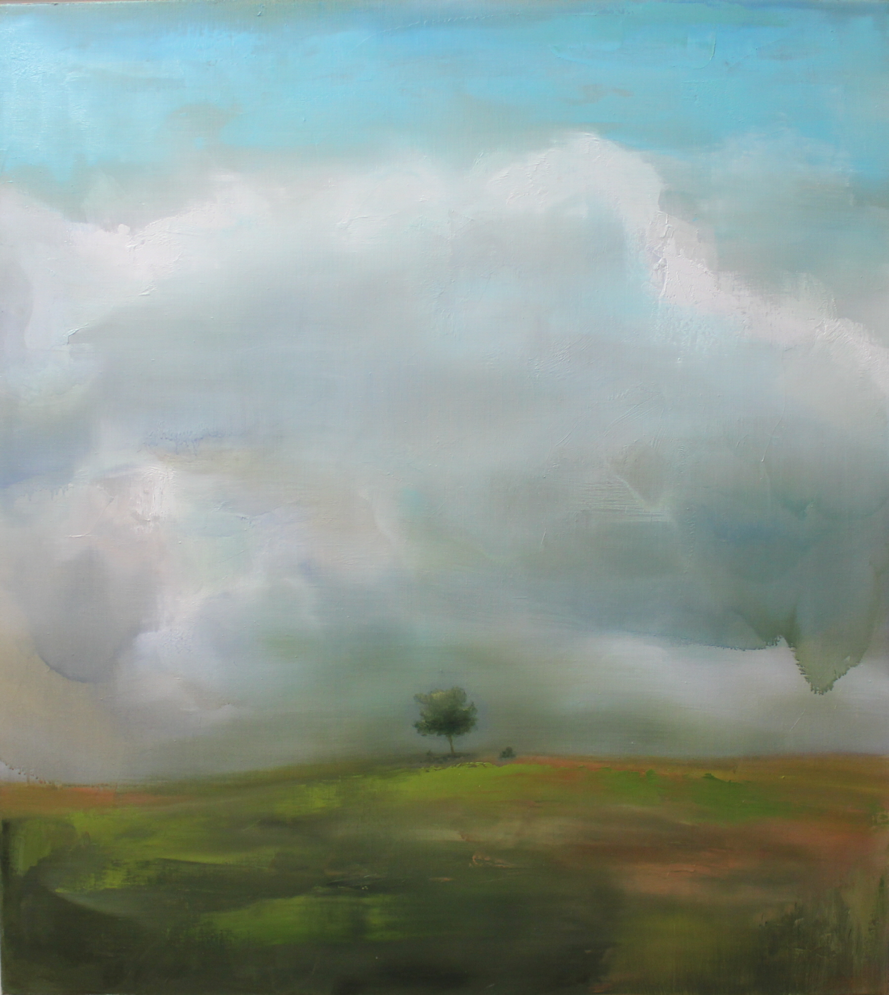 The Wind_oil on canvas_102x102cm_2013