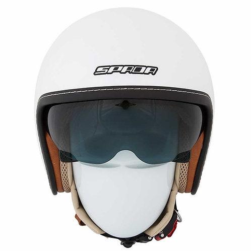 Spada Raze Openface Helmets Pearl White