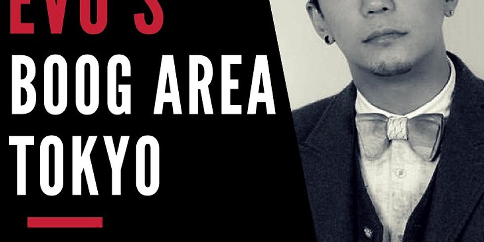 EVO'S BOOG AREA TOKYO
