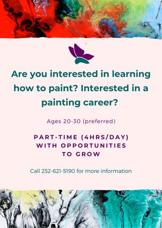 Painting flyer