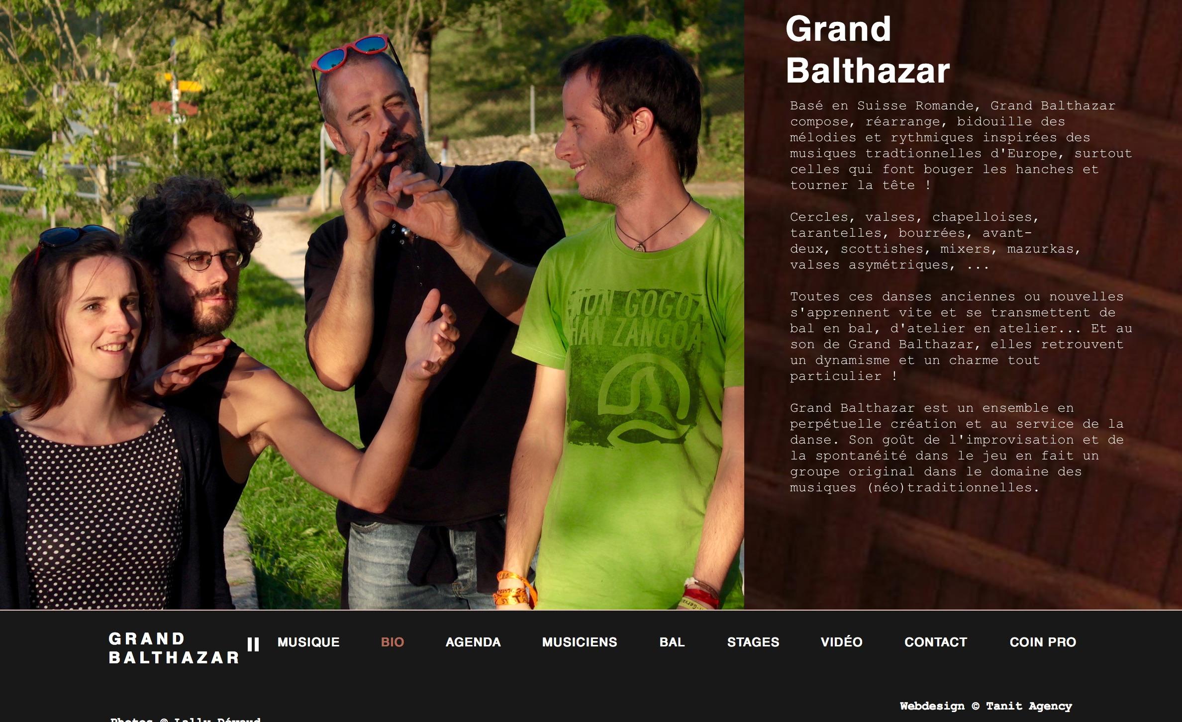 Grand Balthazar - Suisse