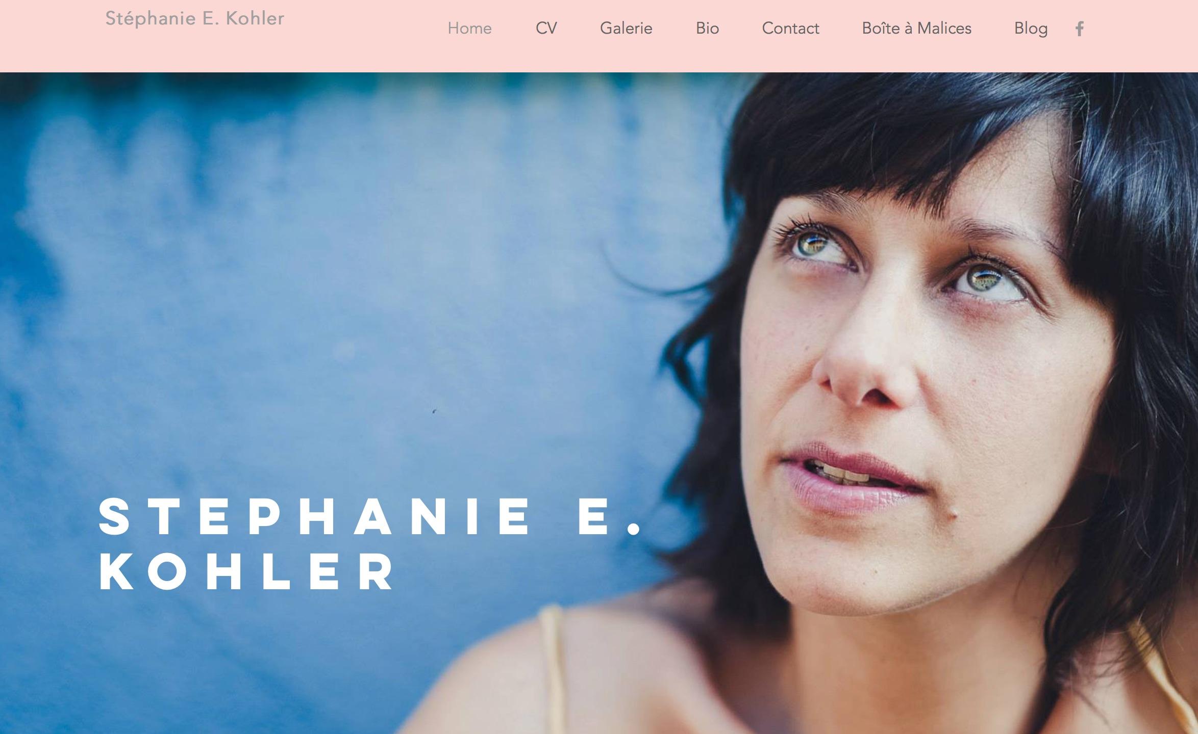 Stéphanie Kohler, Comédienne, Suisse