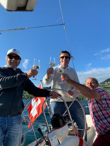 Moments partagés, Following John, Lac Léman