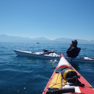 Following John, Kayak