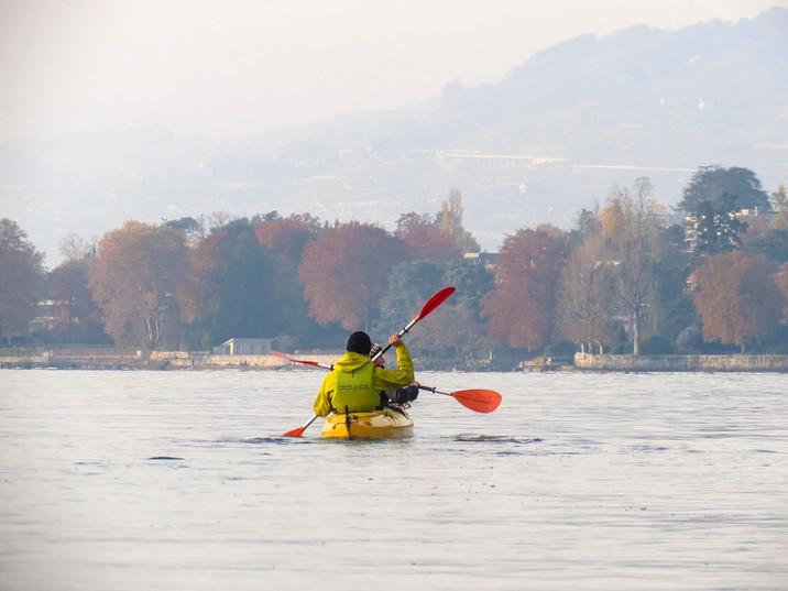 En kayak, à la découverte avec Following John