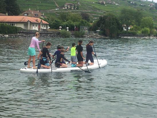 following john paddle camp d'été