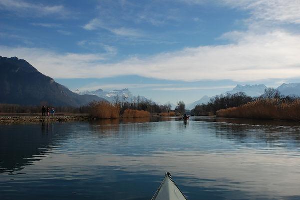 Découverte de la Suisse en Kayak