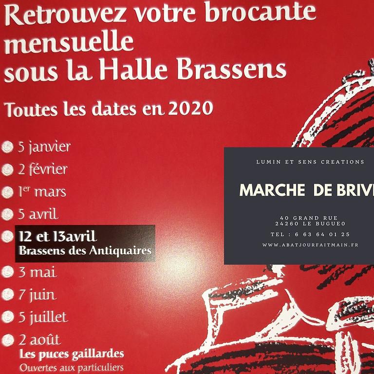 Brocante mensuelle de Brive-la-Gaillarde (Corrèze /19)