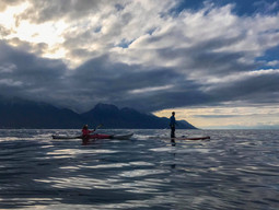 Following-john, sortie sur le Lac Léman, Kayak, Stand Up Paddle