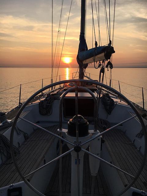 sailing & cruise, following john_