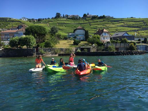 Découverte tourisme Suisse autrement, Following John