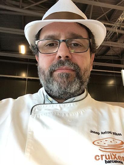 Josep Antoni Ribas Maestro panadero Barcelona