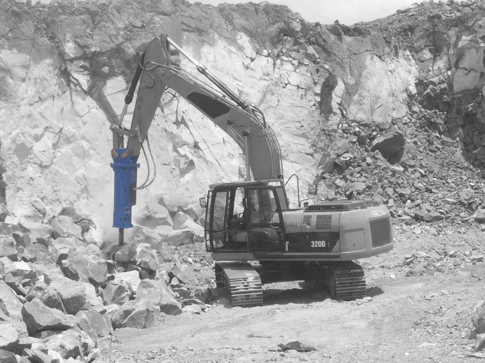 Composants brise roches