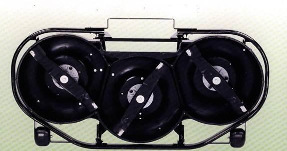 Crankcase lawn mower
