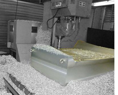 Usinagem do molde para Shrould