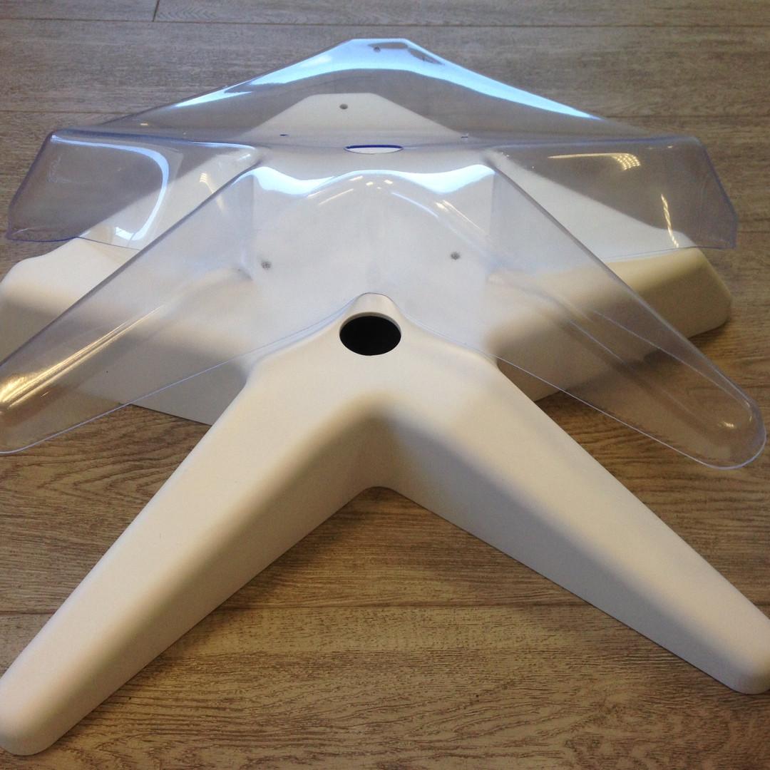 Base para mesa cirúrgica