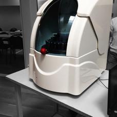 Medical analyzer composite hood
