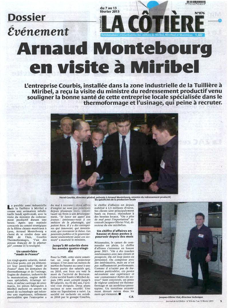 Février 2013 La Cotiere