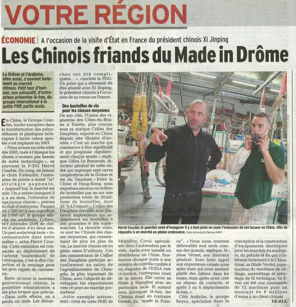 25.03.2014 Dauphiné Libéré