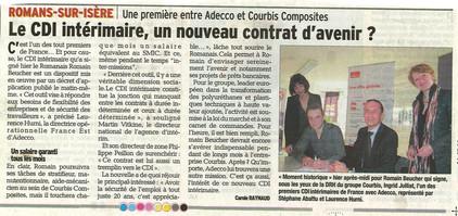 07.03.2014 Dauphiné Libéré