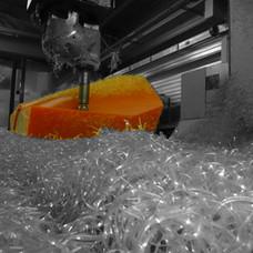 Usinage shroud polyurethane
