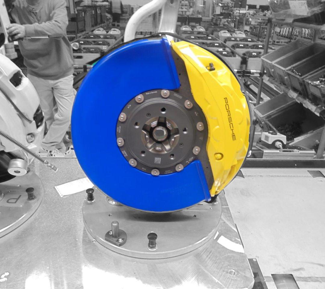 Protection brakes ceramic Porsche