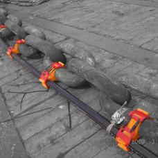 Clamp fixé sur mooring line