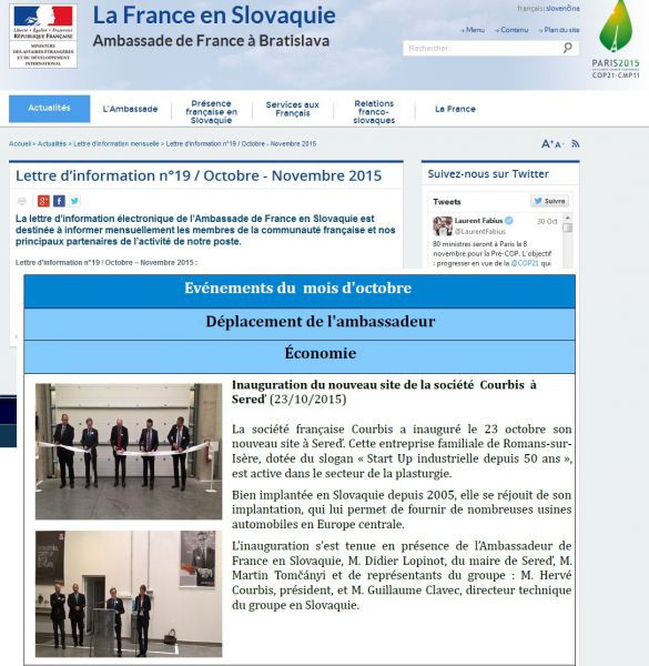 23.10.2015 Ambassade de France en Slovaquie