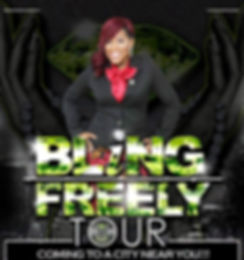 Bling Freely Tour Flyer